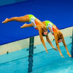 SEA Games 2015 - Synchronised Swimming
